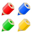 Pencil blog icon web vector