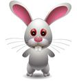 Cute rabbit cartoon vector