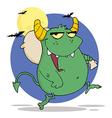 Halloween monster cartoon vector