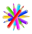 Pencil blog icon web vector