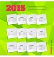 Calendar template brochure business design vector