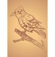 Crow sketch2 vector