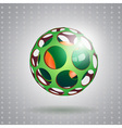 Abstract technology sphere vector