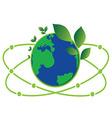 Science green world vector
