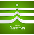 Green abstract merry christmas background vector