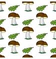 Mushroomspattern11 vector