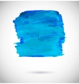 Colorful abstract paint banner vector