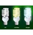Compact fluorescent lamp vector