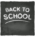 Back to school chalkboard blackboard vector