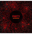 Abstract circular red glow background vector