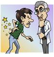 Doctor pain vector