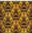 Gold seamless wallpaper vector