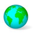 Blue globe vector