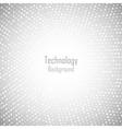 Abstract circular light gray background vector