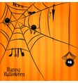 Web spiders and some things in halloween style vector