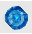 Abstract gem and blue ice vector