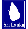 Sri lanka vector