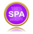 New spa icon vector