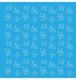 Blue background with birds vector