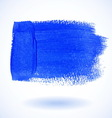 Blue watercolor banner vector
