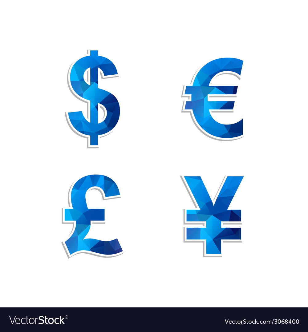 Currency icon vector | Price: 1 Credit (USD $1)