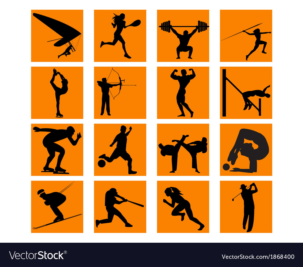 Different sports vector | Price: 1 Credit (USD $1)