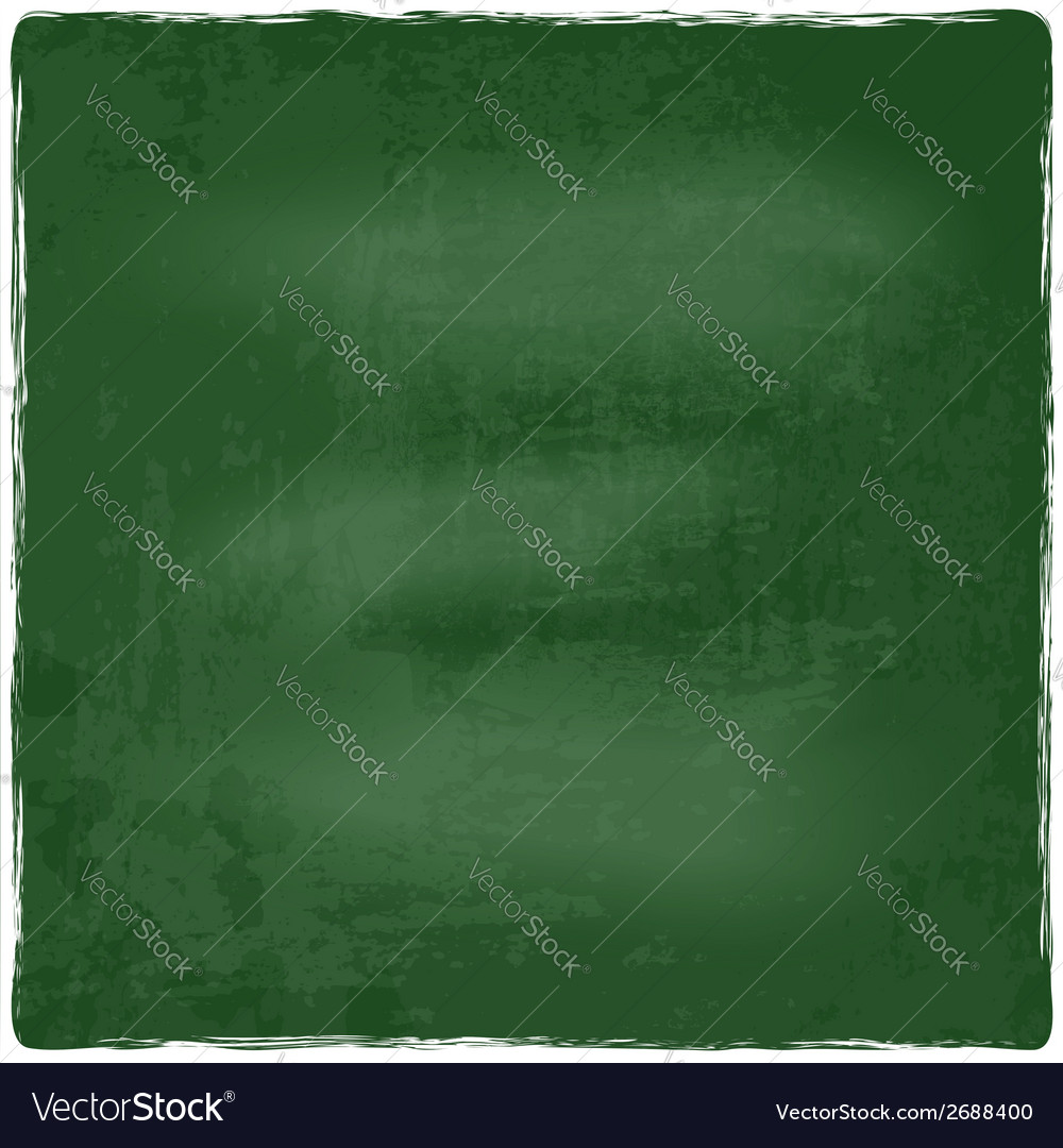 Green chalkboard blackboard vector | Price: 1 Credit (USD $1)