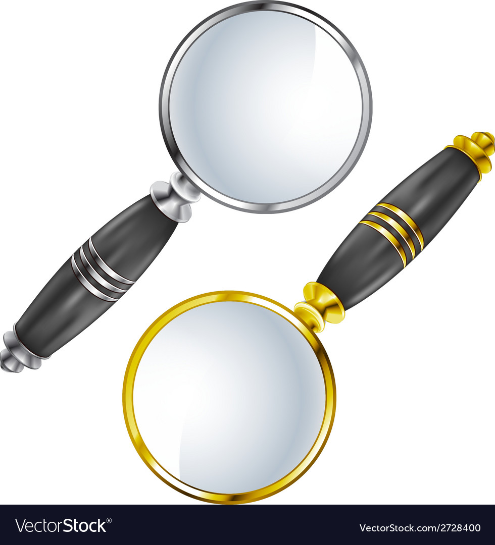 Magnifying lens search vector | Price: 1 Credit (USD $1)