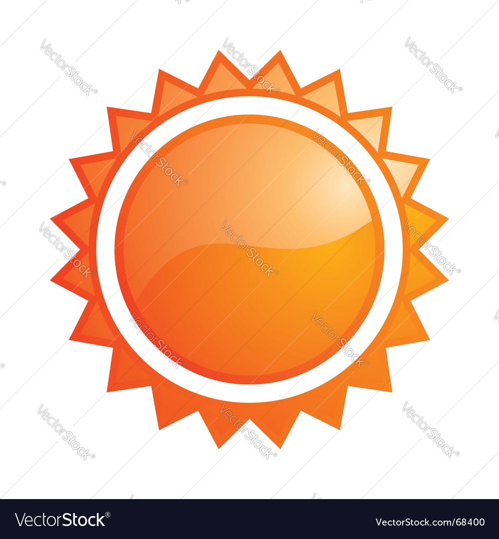 Sun icon vector | Price: 1 Credit (USD $1)