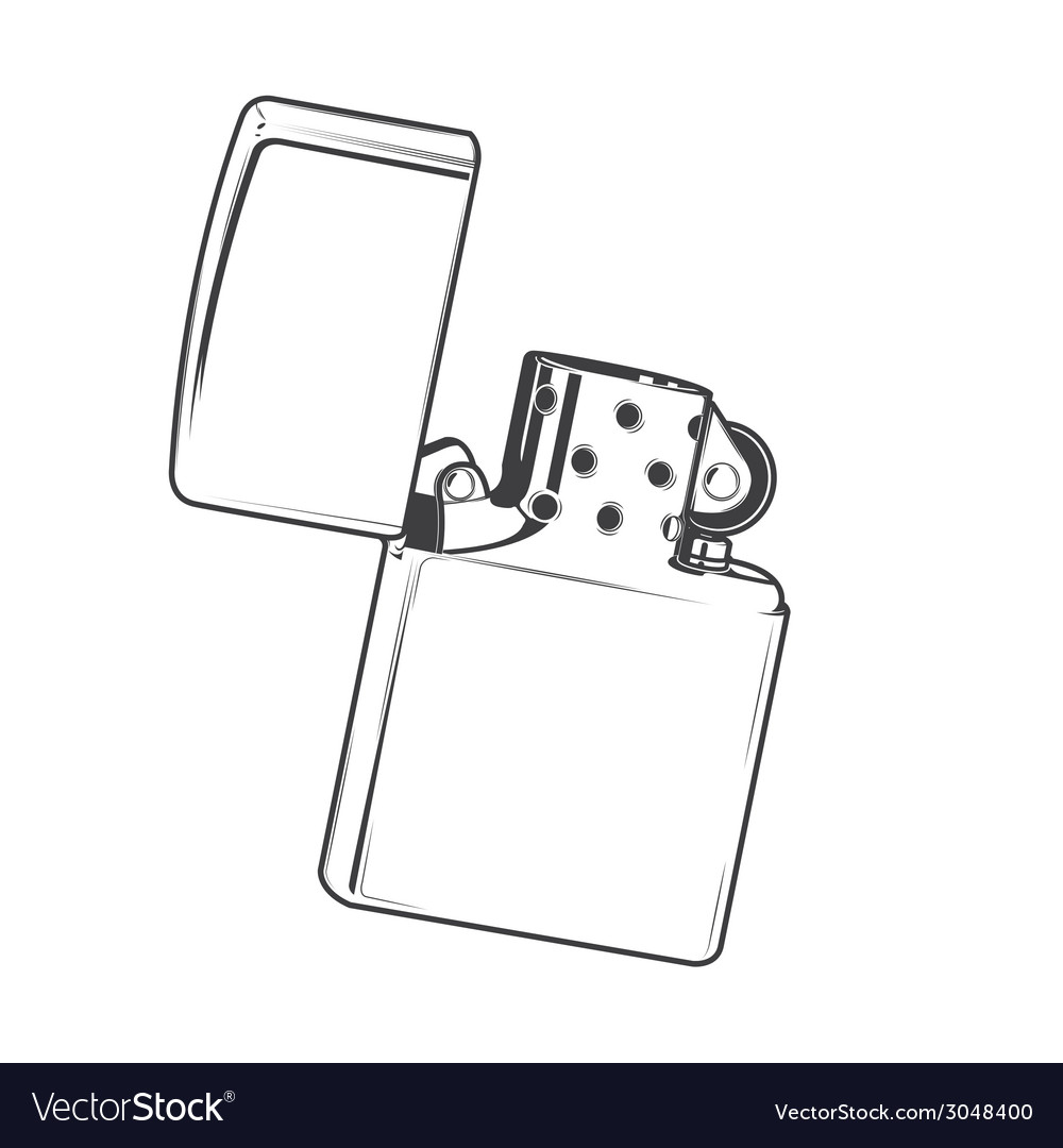 Zippo lighter vector | Price: 1 Credit (USD $1)