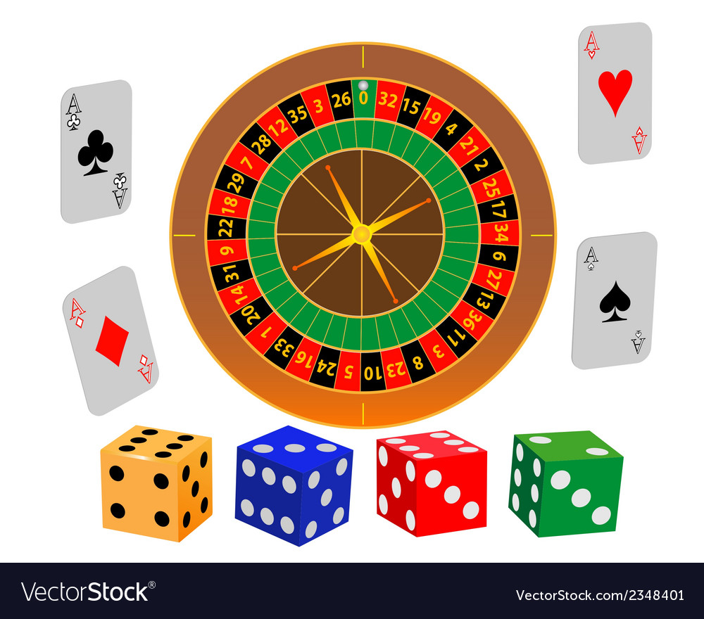 Roulette game vector | Price: 1 Credit (USD $1)
