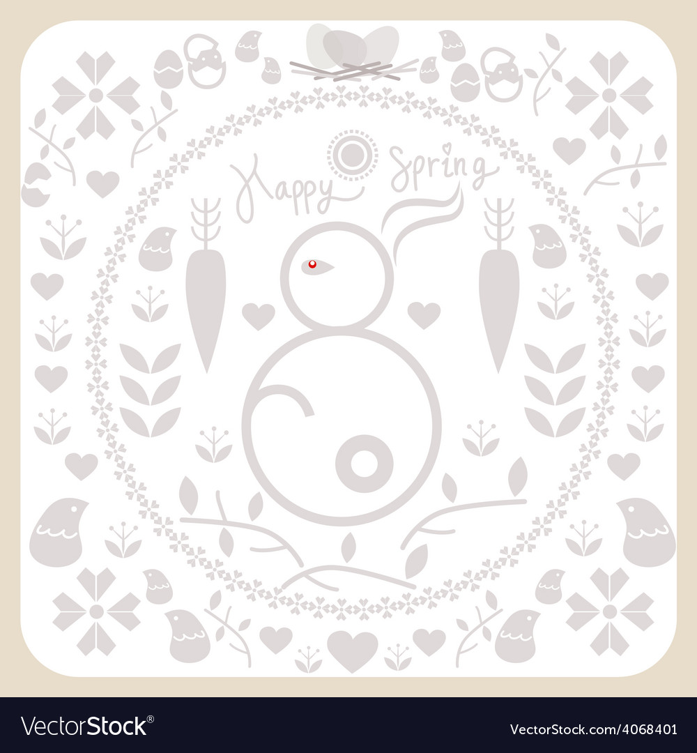 Spring and easter for design vector   Price: 1 Credit (USD $1)