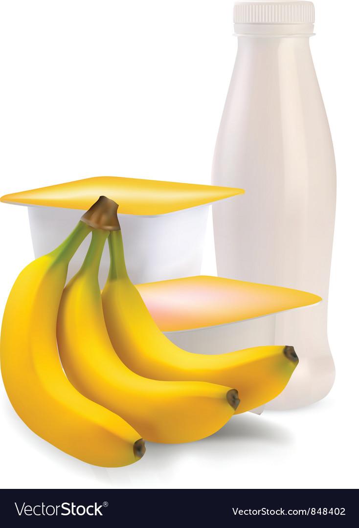 Banana flavor vector | Price: 3 Credit (USD $3)