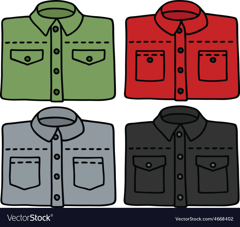 Color shirts vector | Price: 1 Credit (USD $1)