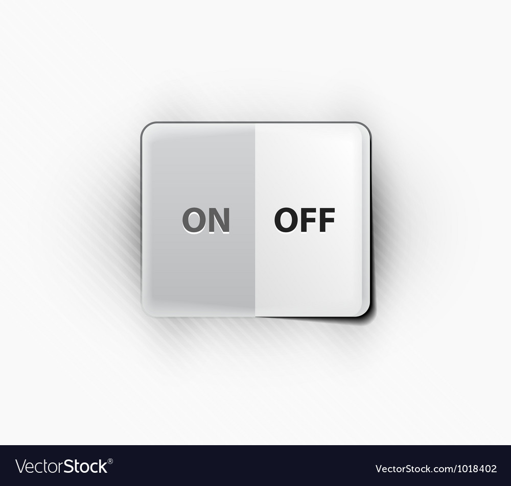 On off switcher vector | Price: 1 Credit (USD $1)