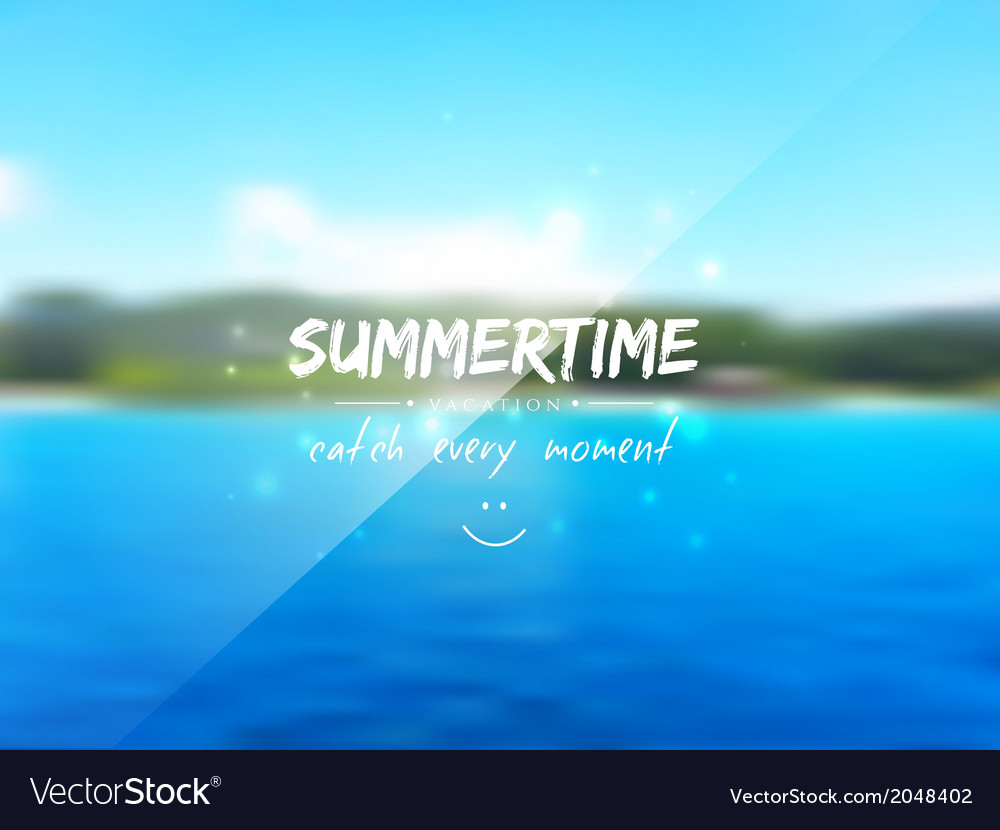 Summertime background vector | Price: 1 Credit (USD $1)