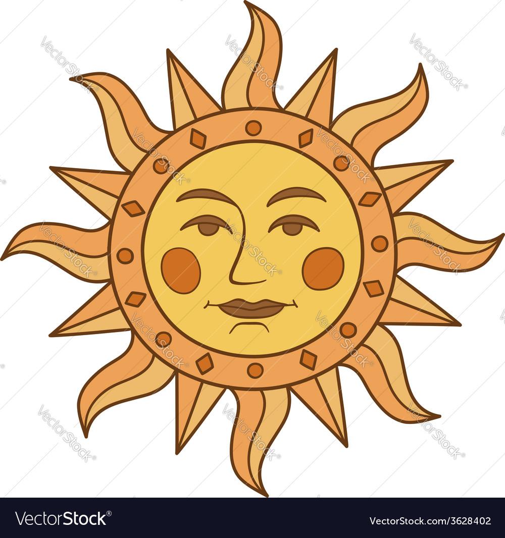 Sun symbol vector   Price: 1 Credit (USD $1)