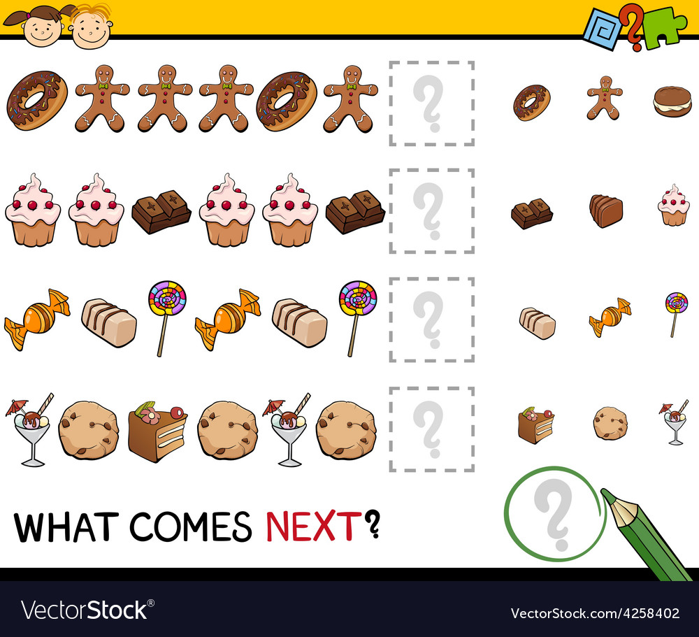 What comes next game cartoon vector   Price: 1 Credit (USD $1)