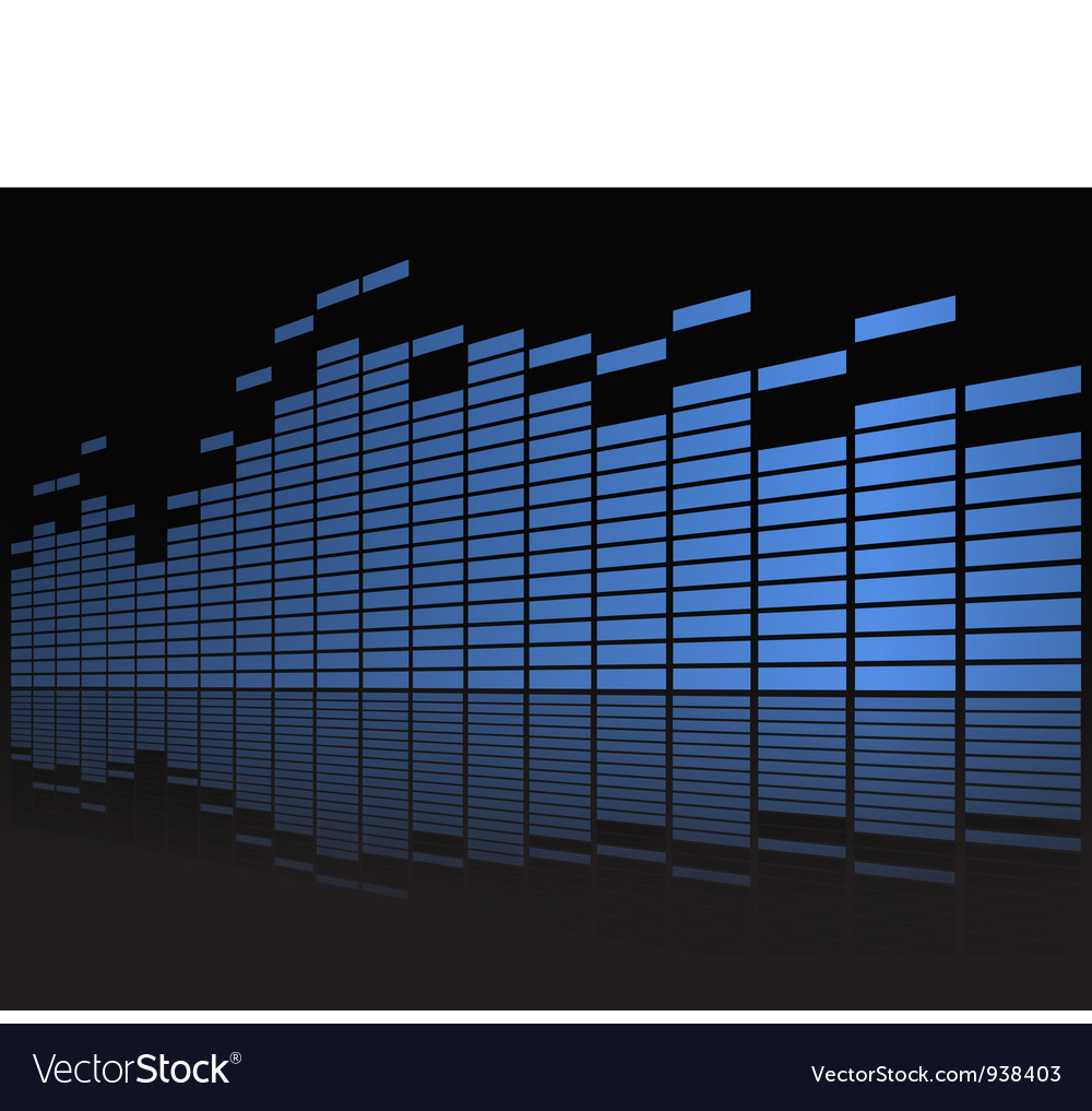 Equalizer display vector | Price: 1 Credit (USD $1)