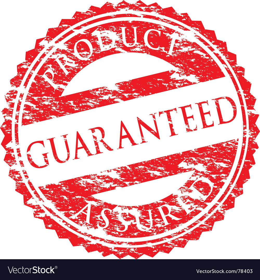 Guaranteed logo vector | Price: 1 Credit (USD $1)