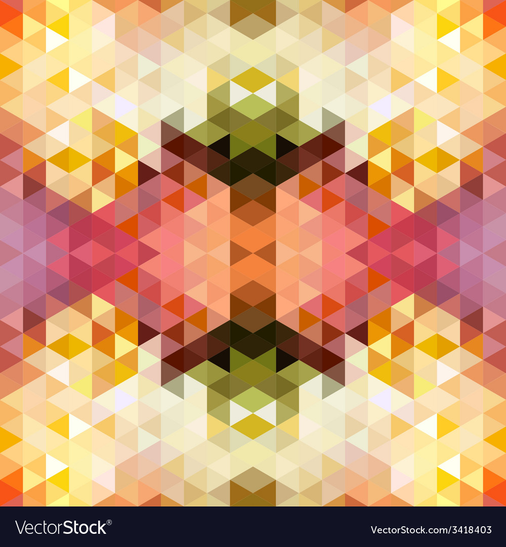 Triangular mosaic purple background vector   Price: 1 Credit (USD $1)