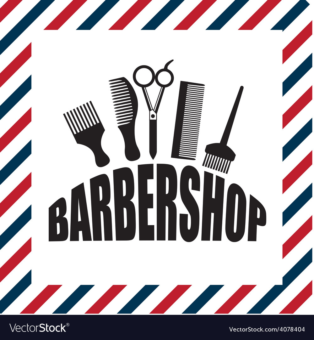 Barber shop vector | Price: 1 Credit (USD $1)