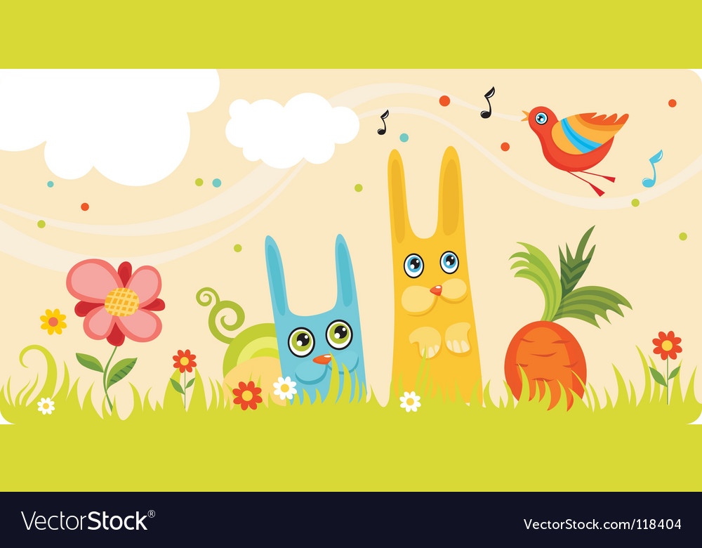 Nature card vector | Price: 1 Credit (USD $1)