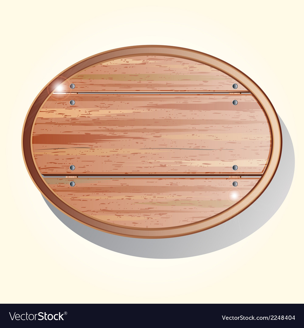 Old wooden board vector | Price: 1 Credit (USD $1)