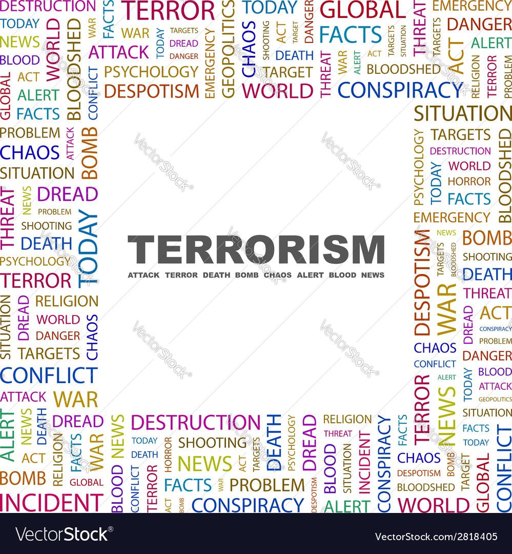 Terrorism vector   Price: 1 Credit (USD $1)