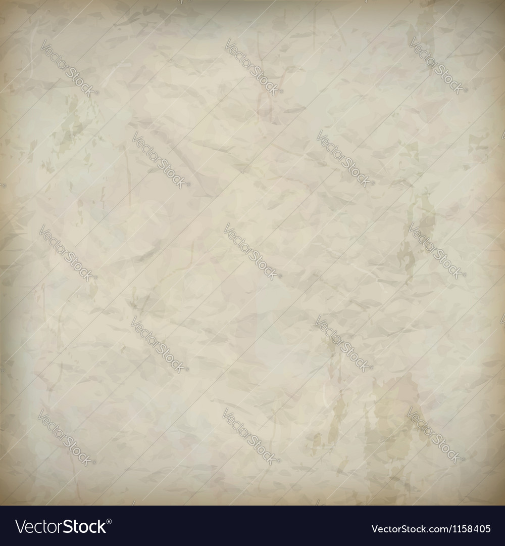 Vintage crumpled old paper textured background vector | Price: 1 Credit (USD $1)