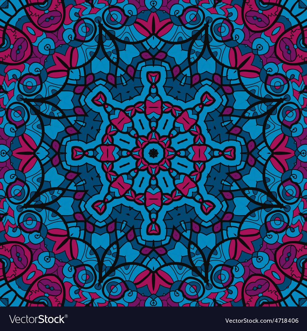 Arabesque seamless pattern background vintage vector   Price: 1 Credit (USD $1)