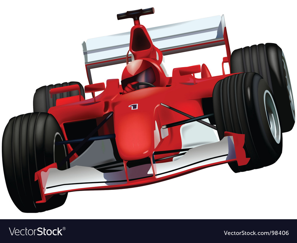 Formula one vector | Price: 1 Credit (USD $1)