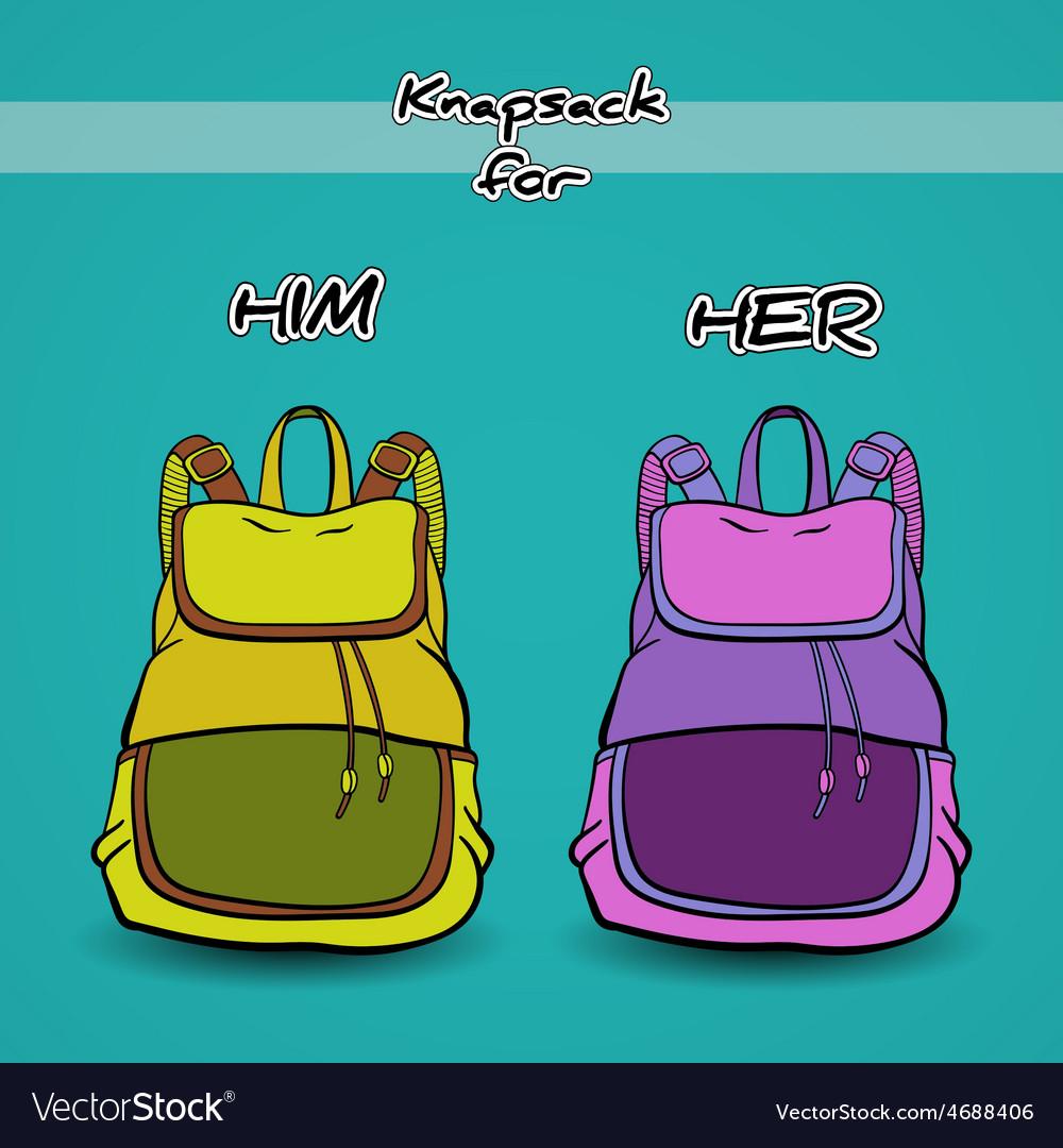 Knapsack vector | Price: 1 Credit (USD $1)