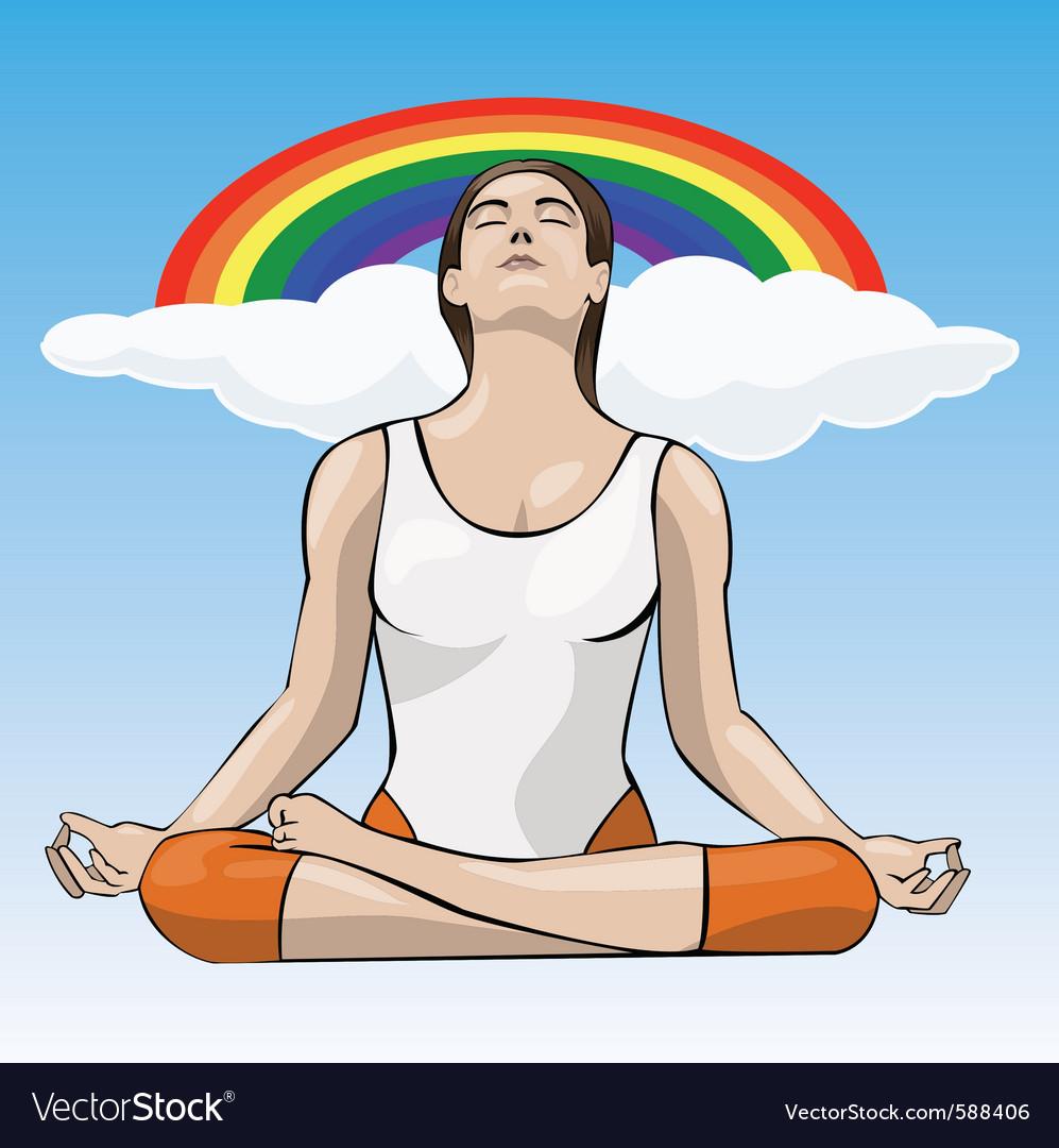 Yoga vector | Price: 3 Credit (USD $3)